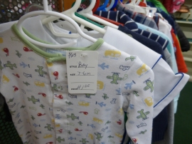 Need baby clothes? Think about St. Vincent de Paul at 39th and Troost!