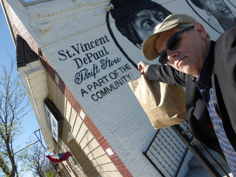 I cleaned out my closet this spring and took the good stuff to St. Vincent de Paul at 39th and Troost!